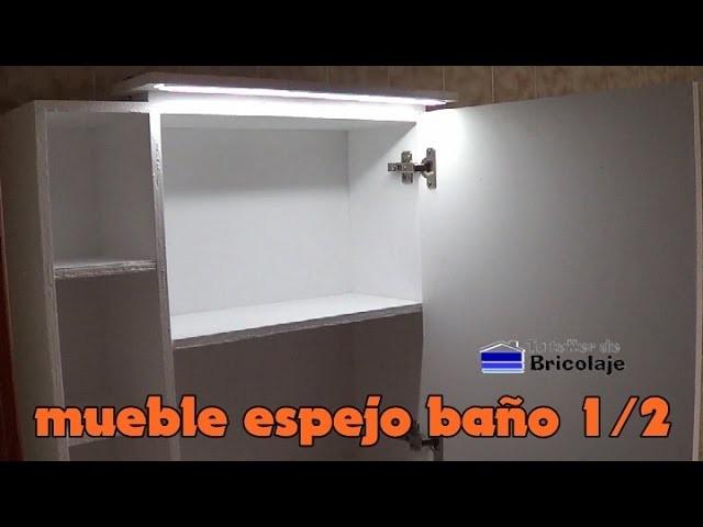 Cómo hacer un mueble con espejo para el baño. 1.2
