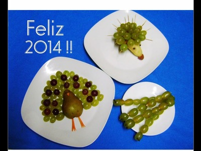 Decoraciones con Uvas - Decorations with grapes