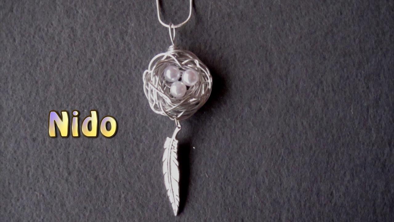 # - DIY - Colgante Nido de pajaritos # - DIY - Bird's Nest Pendant