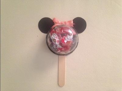 DIY: Dulcero Minnie.día del niño.
