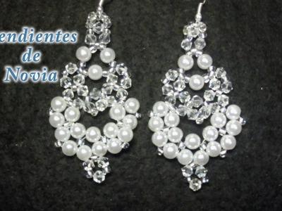 # DIY - Pendientes de novia largos# DIY - Long Bridal Earrings