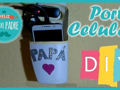 DIY Porta Celular para el Día del Padre. Regalo fácil y económico para papá