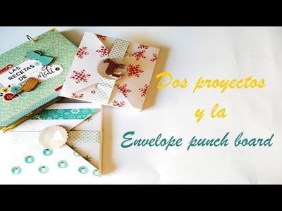EskuzEsther 25 2 Proyectos, la Envelope punch board y una sorpresa al final.
