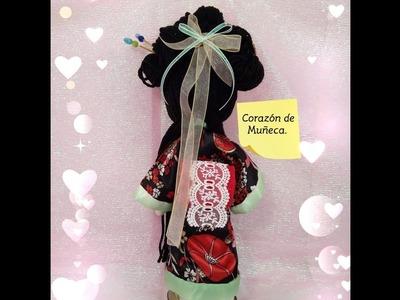 Especial dia de la Madre.  Muñeca  Japonesa. 4ta.