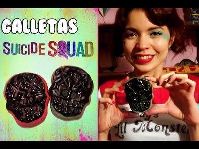 Galletas de azúcar de Suicide Squad! | Nom Nom