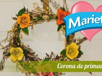 Hazlo tú misma con Marietta | Corona Primavera