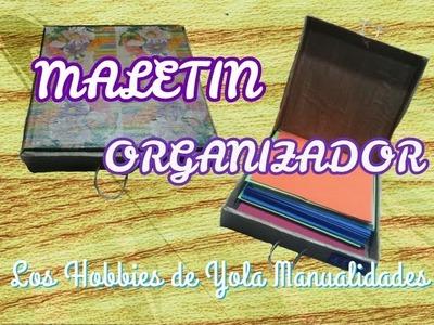 Maletin organizador. Los Hobbies de Yola ✂????????