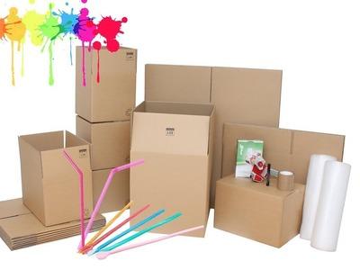 Manualidades con cajas y carton