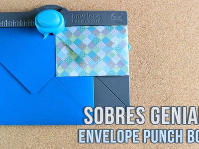 Maquina para hacer SOBRES | Envelope Punch Board, We R | REVIEW