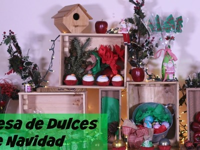 Mesa de Dulces de Navidad