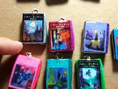 Mini libros con portadas de Harry Potter