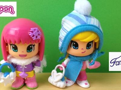 Muñeca pinypon de invierno | niña pinypon nieve