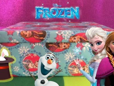 [NUEVA]Caja sorpresa de Frozen - Juguetes de Frozen en español