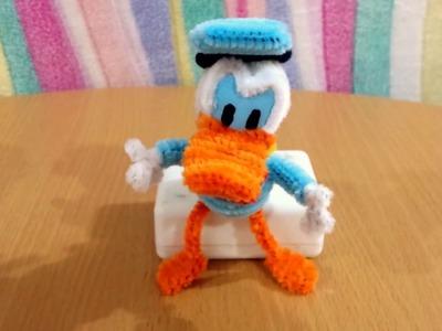 Pato Donald Hecho Con Limpiapipas 1