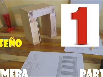 PRIMERA PARTE 1 (DISEÑO) MUEBLE PORTA TV FACIL - Luis Lovon