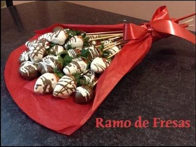 Ramo de Fresas San Valentín
