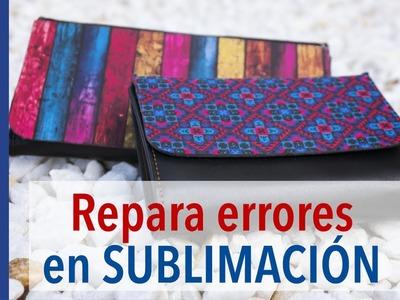 Repara fallos en SUBLIMACIÓN con SUBLITEX