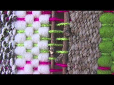 Taller de artesanías en fibras