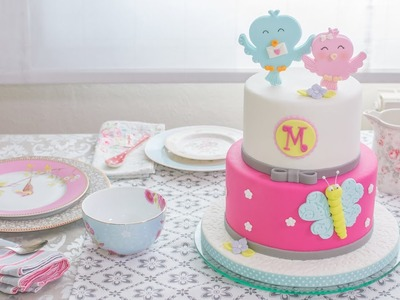 Tarta infantil de fondant - Receta - María Lunarillos | tienda & blog