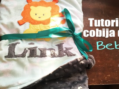 Tutorial: Como hacer una cobija para el bebe - Los290ss