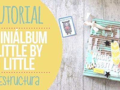 Tutorial mini álbum con tapas de cartón - Nunusite