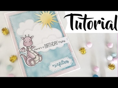 Tutorial: una tarjeta de cumpleaños para Cris