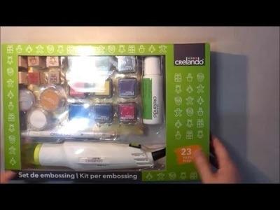 Unboxing: Set de embossing de Lidl ¿merece la pena?