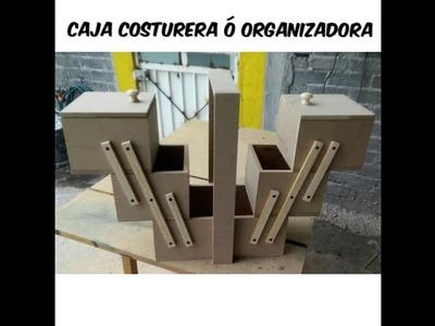 CAJA COSTURERA O ORGANIZADORA
