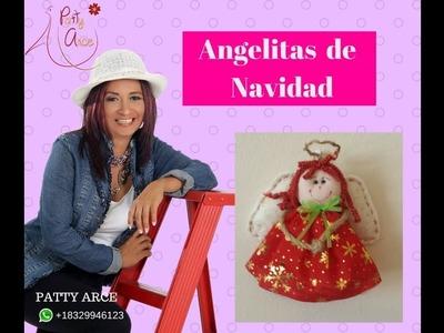 Clase #6 Angelitas de Navidad Clase en vivo