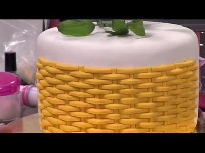 Como elaborar tejido cesta con pasta de goma - Hogar Tv  por Juan Gonzalo Angel