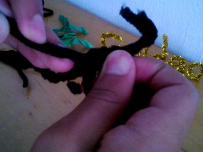 Como hacer un caballo con limpia pipas (PARTE 2)