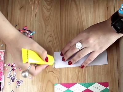 Cómo hacer un caleidoscopio con rollos de papel higiénico Scott