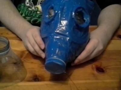 Como hacer una mascara anti - gas rapido