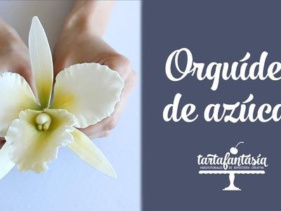 Cómo hacer una Orquídea de Azúcar