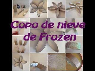 COPO DE NIEVE. DIY. Manualidad
