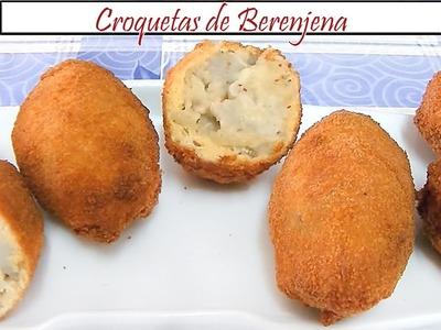 Croquetas de Berenjena | Receta de Cocina en Familia