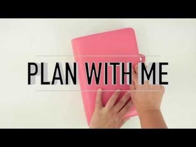 Decoración de agenda | Plan with me | Week 17.2017 | CON P DE PAPEL