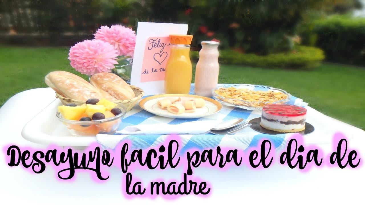 Desayuno Facil y Especial Para Regalar El Dia De La Madre | LAURA MEJIA
