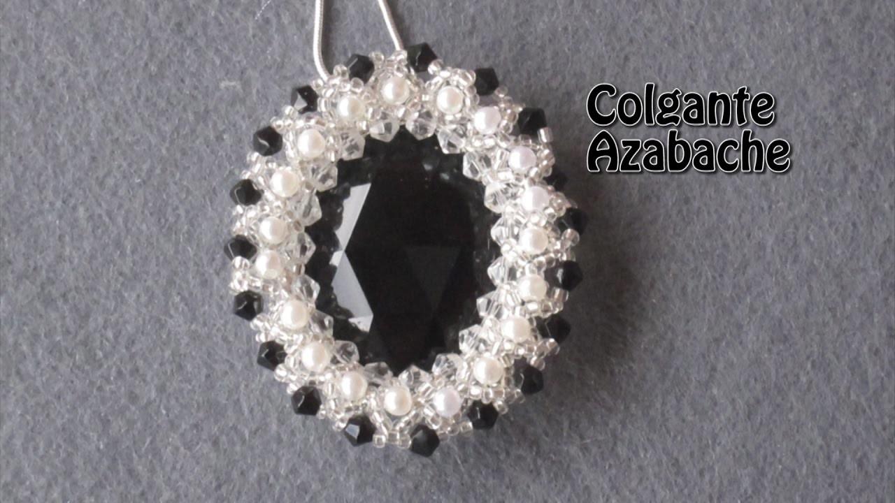 # DIY - Colgante, Medallón de azabache# DIY - Pendant, Jet Medallion