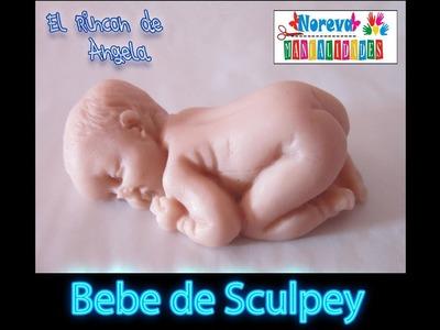DIY Como hacer bebe de sculpey, Fimo o Arcilla Polimerica con molde