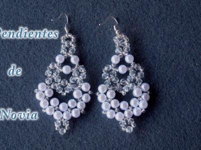 # DIY - Pendientes de novia # DIY - Bridal Earrings