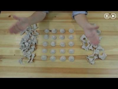 Esto es lo que puedes hacer con una caja de huevos usada