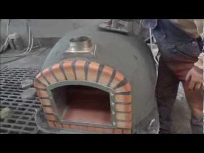 Hornos de Leña de Portugal video de fabrico con aislamiento -Hornos de pan e Pizza