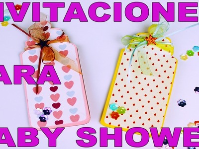 INVITACIONES EN FORMA DE BIBERON PARA BABY SHOWER - VIDEO TUTORIAL