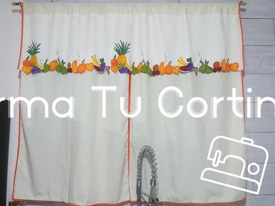 Juego de cocina | Armado de cortina | Paso a paso