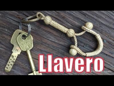 """Llavero de doble prendedura """"El Rincón del Soguero"""""""
