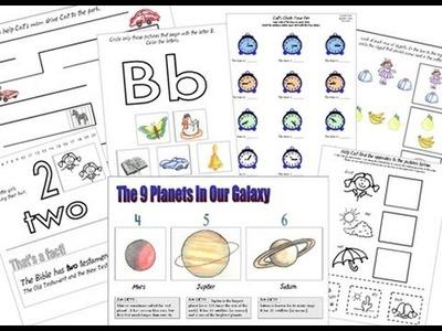 Materiales para imprimir para Escuela en Casa