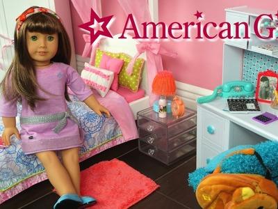 Mi Primera Muñeca American Girl y Decoramos Su Nuevo Cuarto - Juguetes de titi
