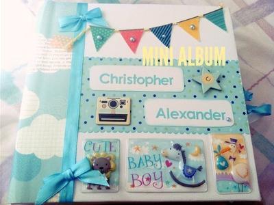 Mini album para niño- My papercrafting