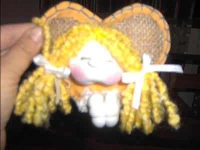 Muñecos Soft. nena en corazon comunion 1.2. .proyecto 38